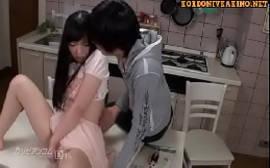 Novinha fudendo na cozinha com seu irmão