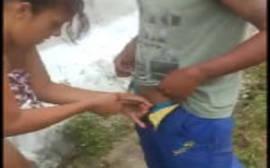 Puta noia querendo tranzar com o brocha para mandar o vídeo em grupo de putaria do whatsapp