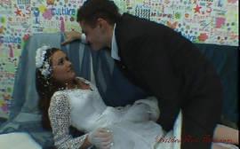 Noiva da elite girl fazendo sexo gostoso com o noivo dotado