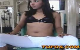 Fudendo a aluna gostosa da academia no melhor do porno carioca que ela começa dando uma boa mamada